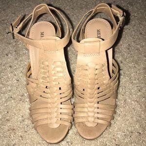 Super cute block heels
